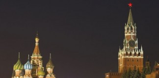 St. Basil's Cathedral, immediately recognizable and breathtaking, stands at the far edge of the Red Square in Moscow.