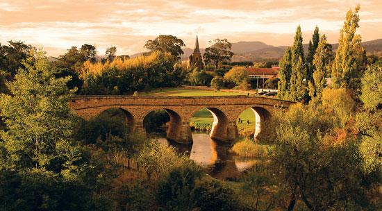 Richmond Bridge is Australia's oldest road bridge. Photo by Australia Tourism