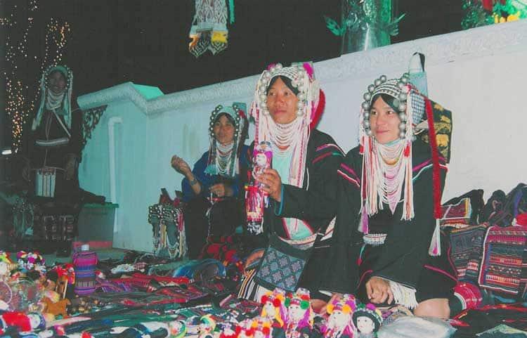 Akha women in Thailand