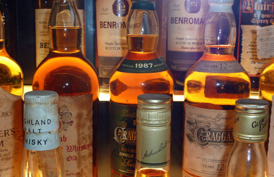 Experience the best in Scotch Wisky in Edinburgh. Photo by Gilly Pickup