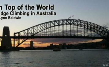 climbing Sydney Bridge