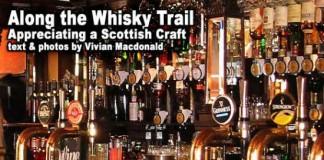 Whiskey tour in Scotland
