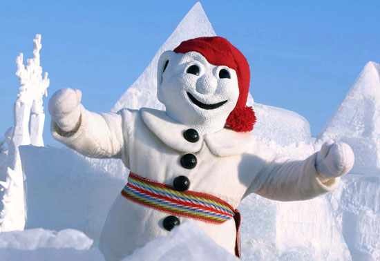 Bonhomme has been around since the festivals beginning.