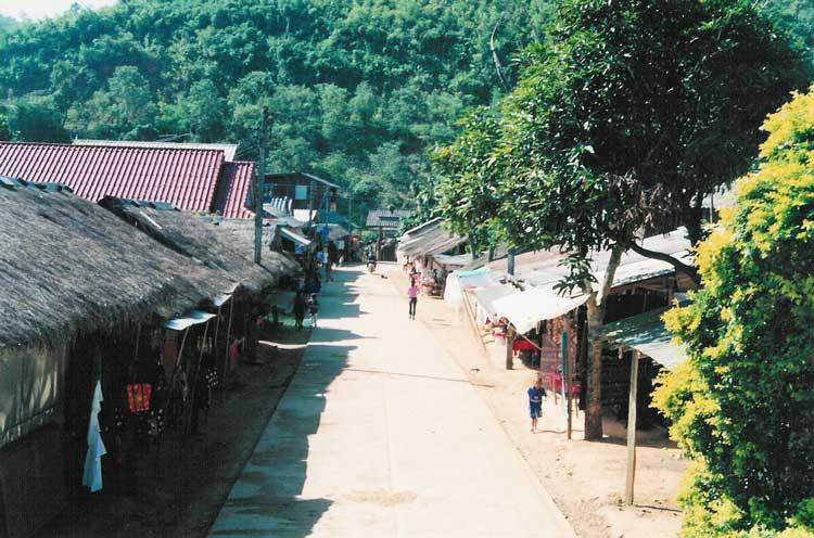 Visiting a Karen village in Thailand