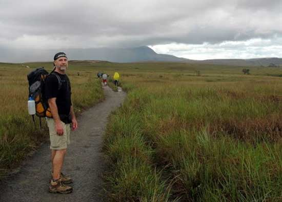 Trekking across the Gran Sabana. Photo by Marilynn Windust