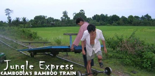 Jungle Express: Cambodia's Bamboo Train