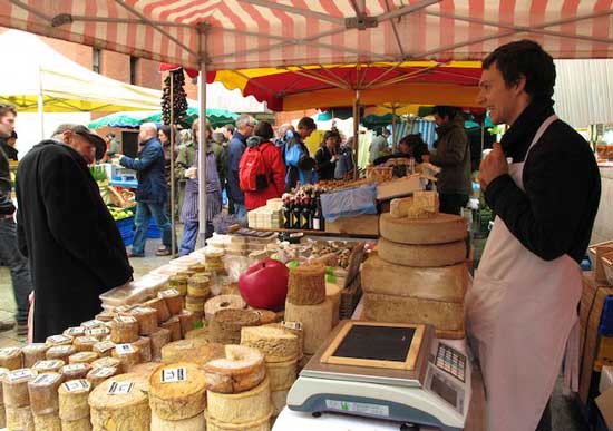 The Temple Bar Food Market is held every Saturday from 10am - 4.30pm at Meeting House Square. Photo by Amy Laughinghouse
