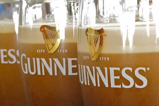 The Gravity Bar at the Guinness Storehouse offers one of the freshest pints in the world, as it is brewed right on the premises. Photo by Amy Laughinghouse.