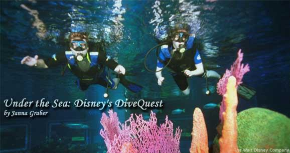 Dive Quest at Walt Disney World