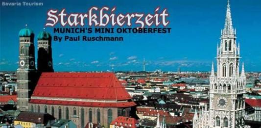 Munich's Starkbierzeit: Festivals In Germany