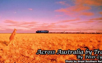 Train travel in Australia