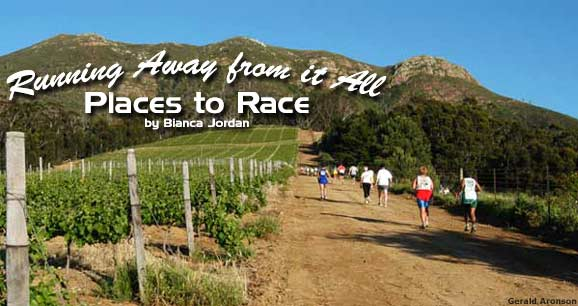 Running Away from it All: Places to Race