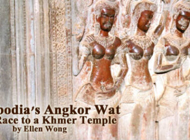Visit to Angkor Wat in Cambodia