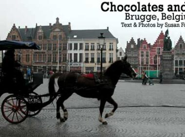 Chocolates and Lace: Travel in Brugge, Belgium
