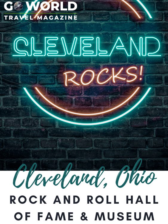 Home to an iconic music treasure, get ready for Cleveland to rock you and learn about its six-story Rock and Roll Hall of Fame and Museum.