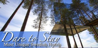 Most unique hotels in Sweden