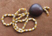 Fishbone African Beads