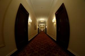 Every door looks the same! Flickr/lucidtech