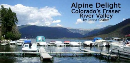 Alpine Delight: Colorado's Fraser River Valley