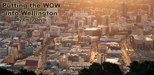 Putting the WOW into Wellington, New Zealand