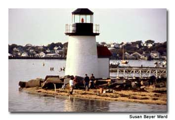 The Brant Point Lighthouse, on Nantucket Harbor, is America's second-oldest light station.