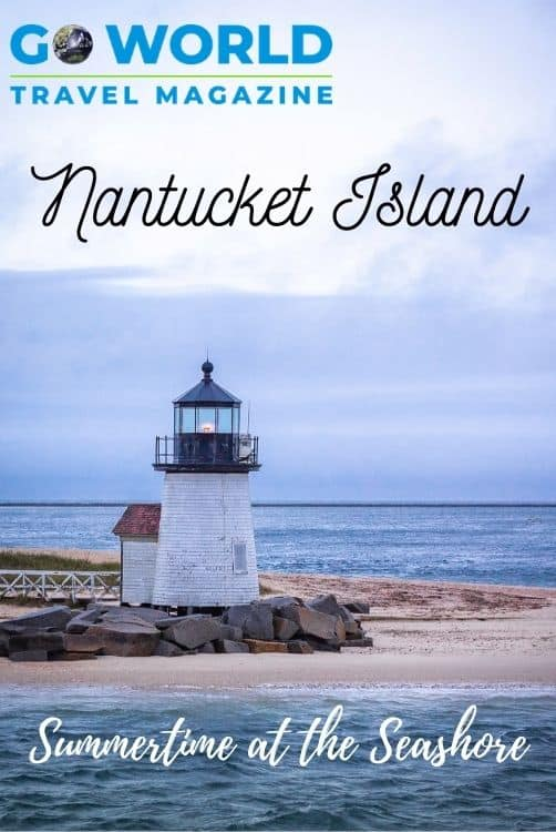 Nantucket Island charms all who visit with history, whale-watching and secluded beaches. Once a sailor's center, now the Island has become a beloved summer vacation spot.