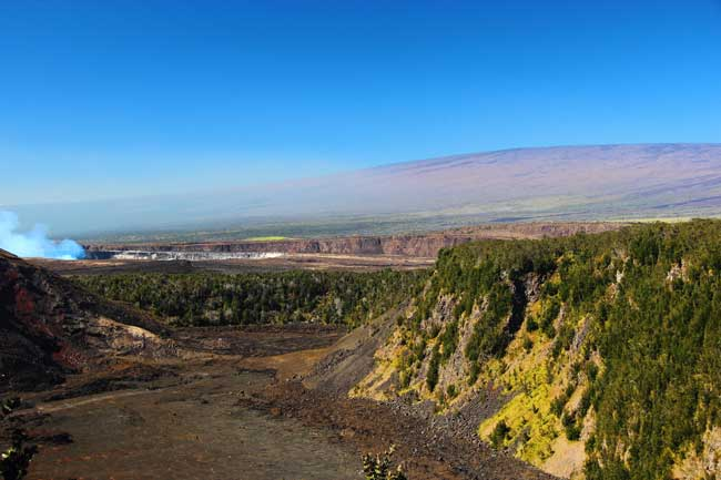 Kilauea from Crater Rim Drive