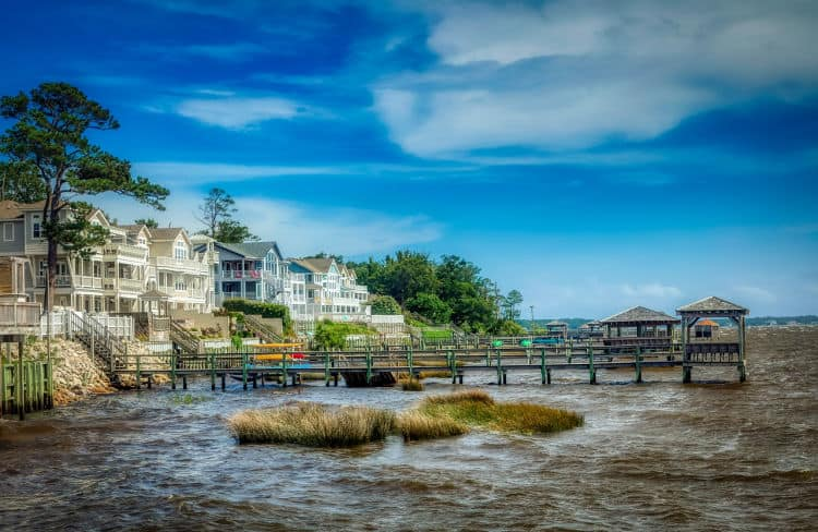 The Currituck Sound is a nature lover's playground in the Outer Banks, North Carolina.