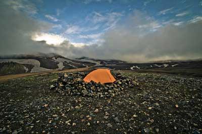 Klara Harden spent 25 days traveling alone through Iceland.