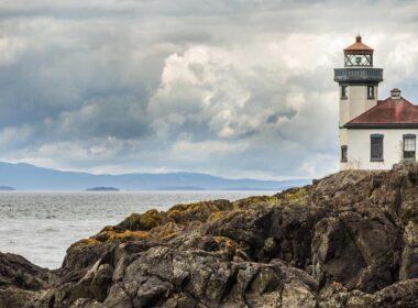 The lighthouse of San Juan island