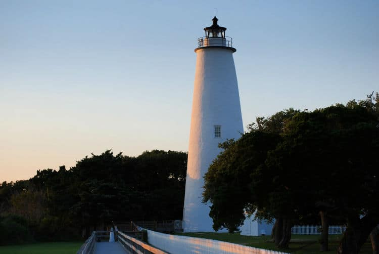 Catch a ferry to Ocracoke one of the islands in the Outer Banks, North Carolina.