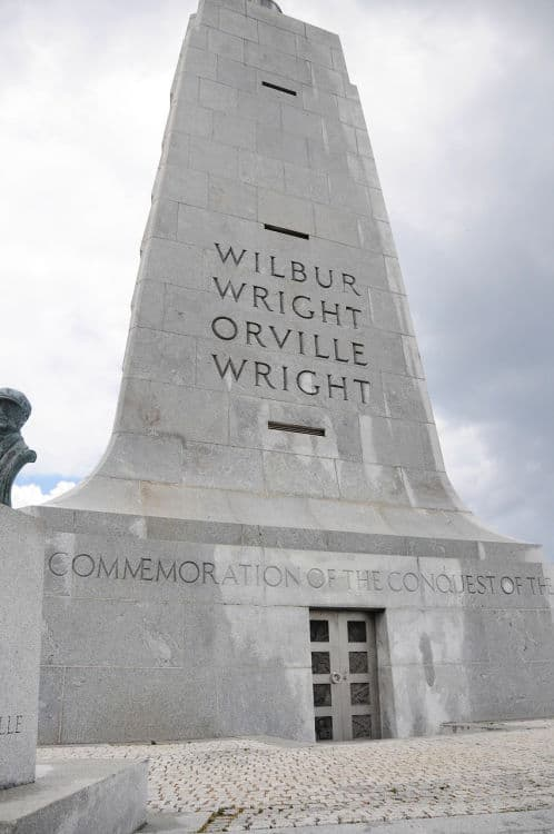 The Wright brothers commemoration