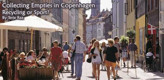 Collecting Empties in Copenhagen: Recycling or Sport?