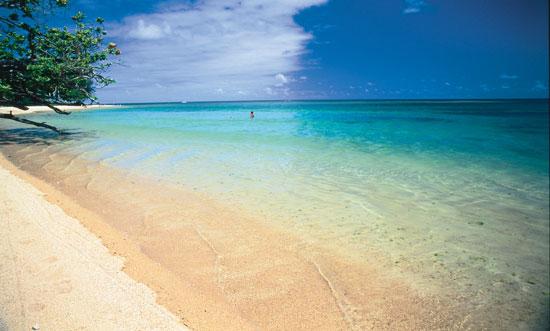 Anini Beach Park in Kauai