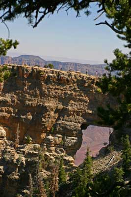 The North Rim is open to visitors from May to October. Photo by Rick DuVal