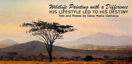 Chris Cambell Clause: Kenyan Wildlife Painter