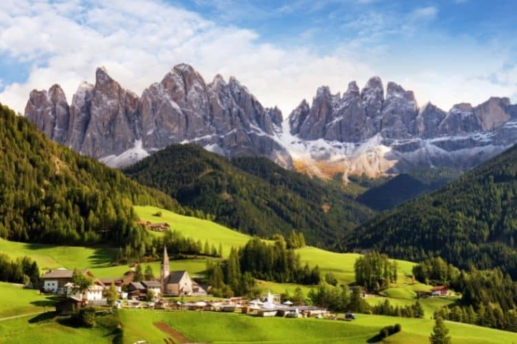 Trentino Alto Adige Italy