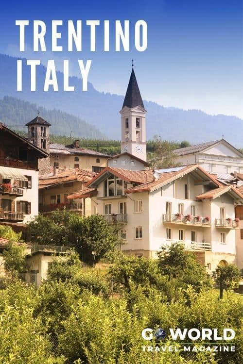 Trentino, Italy in the country's far northeast corner offers vineyards, castles, charming alpine villages and a little bit of German culture. #italytravel #trentinoitaly #northernitaly #exploreitaly