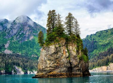 Kenai Rock in Alaska