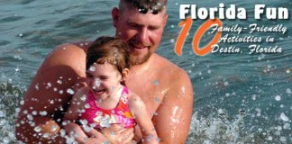 Family travel in Destin, FL