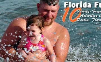 Family travel in Destin, FL