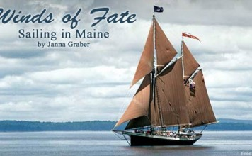 Windjammer cruise in Maine