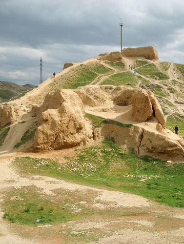 Alexander the Great's fort at Nurata