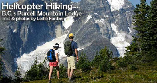 Helicopter Hiking: British Columbia's Purcell Mountains
