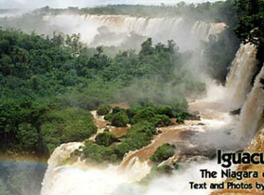 Igaucu Falls in Argentina