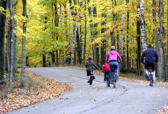Biking in Potawatomi