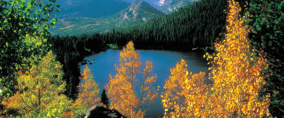 Rocky Mountain National Park is one of America's top 10 national parks -- for good reason with its spectacular views and adventures for all. Photo: Visit Denver / Bruce Boyer
