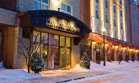 The Hotel Chateau Laurier has a location near Old Quebec.