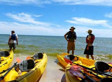 Kayaking in Door County