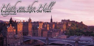 Travel in Edinburgh, Scotland